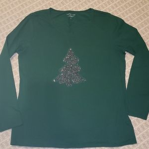 Coldwater Creek Christmas top